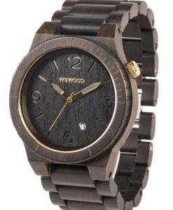 montre en bois alpha black goldmontre en bois alpha black gold