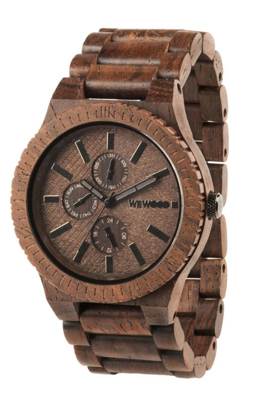 montre en bois kos chocolate