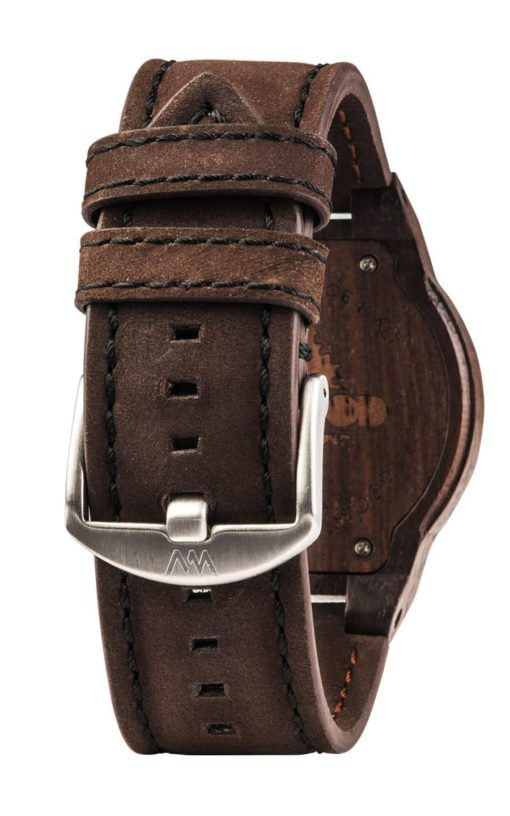 montres Leo Leather Chocolate