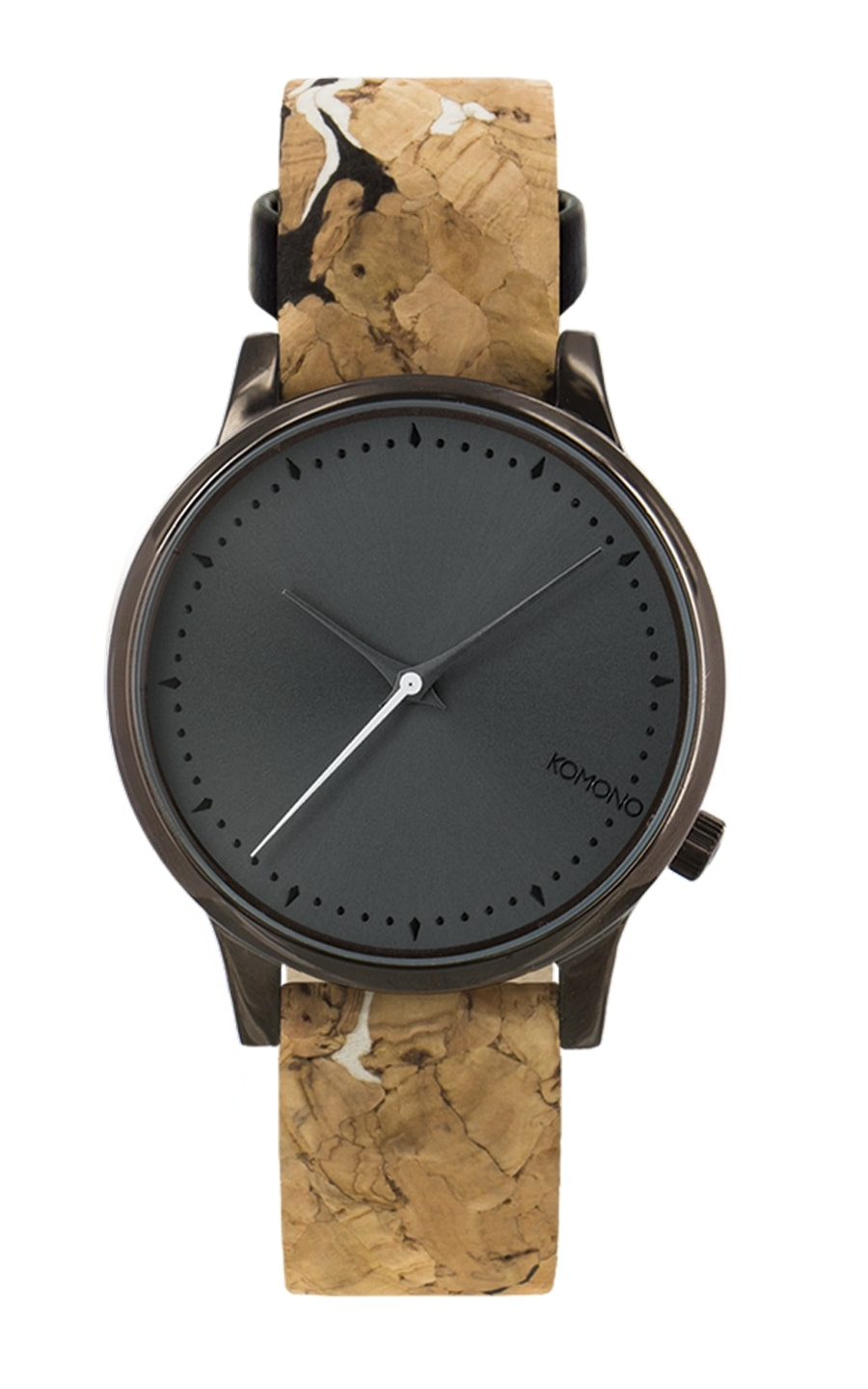 montre estelle cork black and white