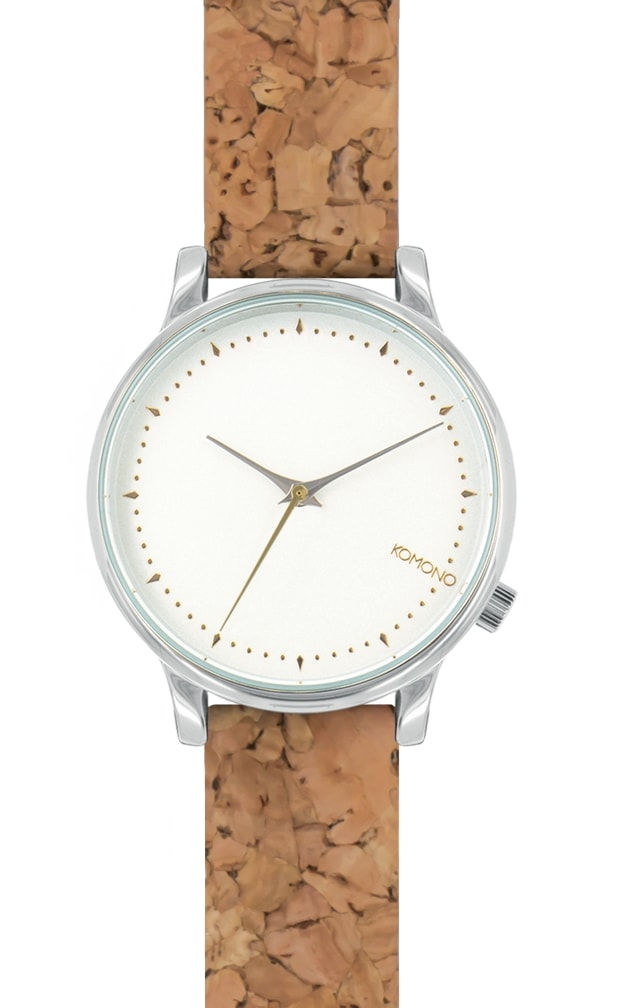 montre komono estelle cork natural