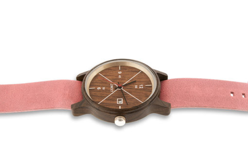Lake Femme plat Santal noyer NATO Rose